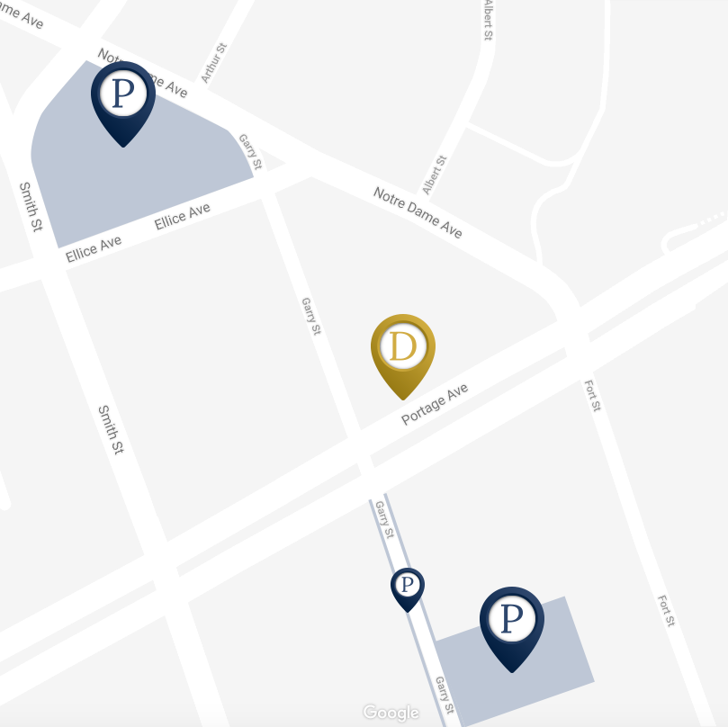 Parking Place Map